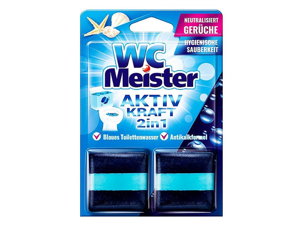WC MEISTER WC TARTÁLYTABLETTA TWINPACK - OCEAN 100G (2DB/CSOMAG)