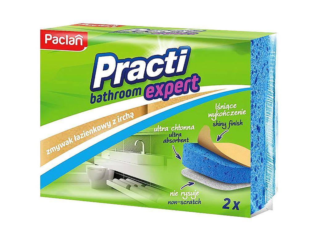 PACLAN PRACTI BATHROOM EXPERT SZIVACS 2DB/CSOMAG (FÜRDŐSZOBA TISZTÍTÁSÁRA AJÁNLOTT.)