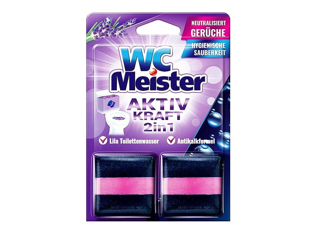 WC MEISTER WC TARTÁLYTABLETTA TWINPACK - LAVENDER 100G (2DB/CSOMAG)