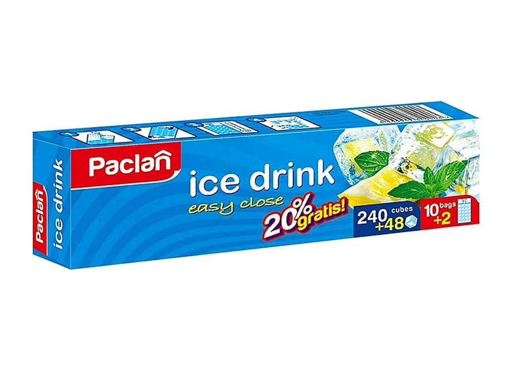 PACLAN JÉGKOCKAKÉSZÍTŐ DOBOZOS 240+48 DB-OS