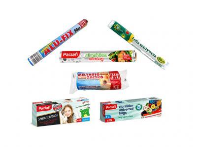 Aluóliák, Fissentartó tasakok, Mélyhűtő termékek kategória