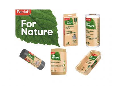 PACLAN FOR NATURE Újrahasznosított termékek kategória