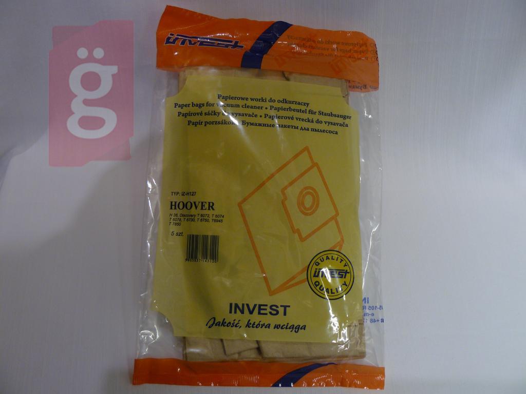 Kép a(z) IZ-H127 Invest Kompatibilis papír porzsák (5db/csomag) nevű termékről
