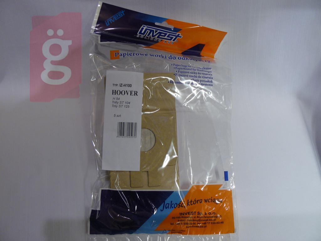 Kép a(z) IZ-H100 Invest Kompatibilis papír porzsák (5db/csomag) nevű termékről
