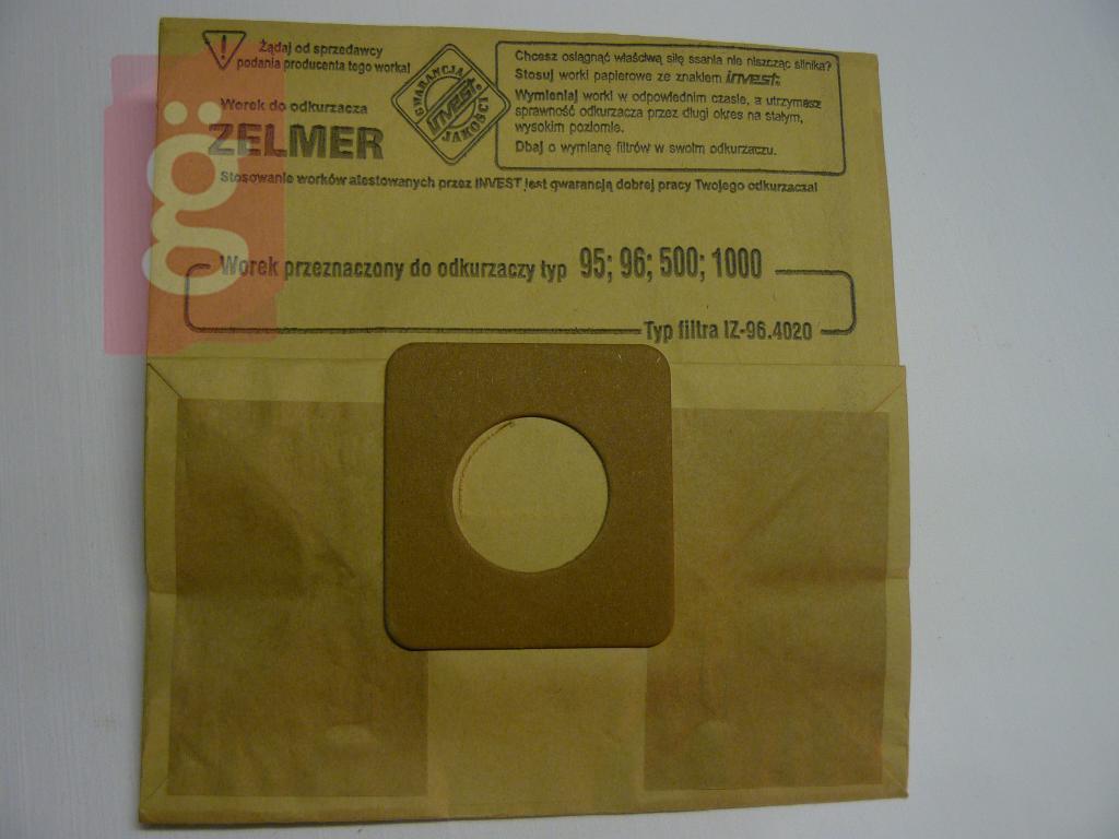 Kép a(z) IZ-96.4020 Invest papír porzsák (5db/csomag) nevű termékről