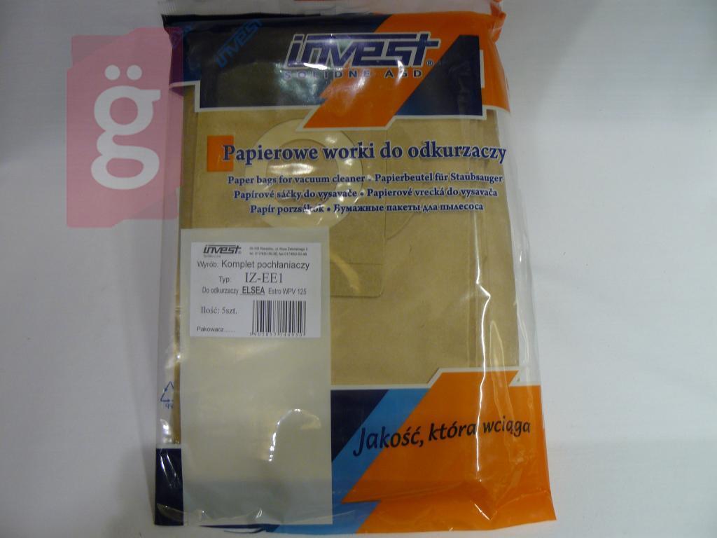 Kép a(z) IZ-EE1 Invest Kompatibilis papír porzsák (5db/csomag) nevű termékről