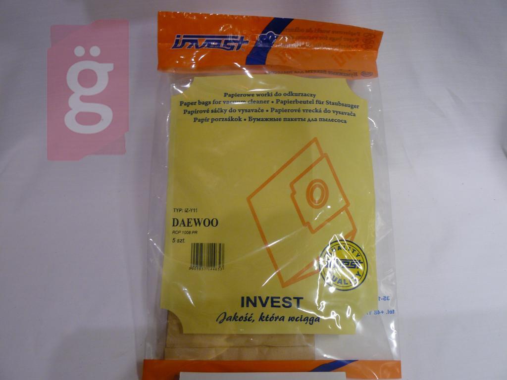 Kép a(z) IZ-Y11 Invest Daewo Kompatibilis papír porzsák (5db/csomag) nevű termékről