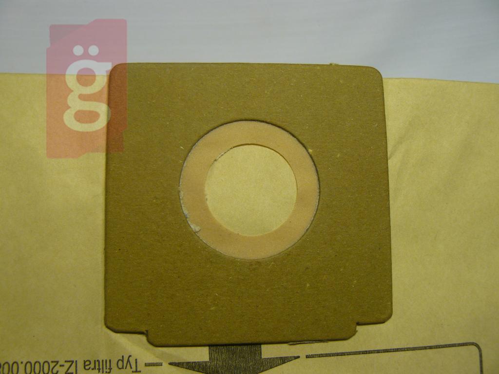 Kép a(z) IZ-2000.0280 Invest Zelmer 2000 Kompatibilis papír porzsák (5db+2filter/csomag) nevű termékről