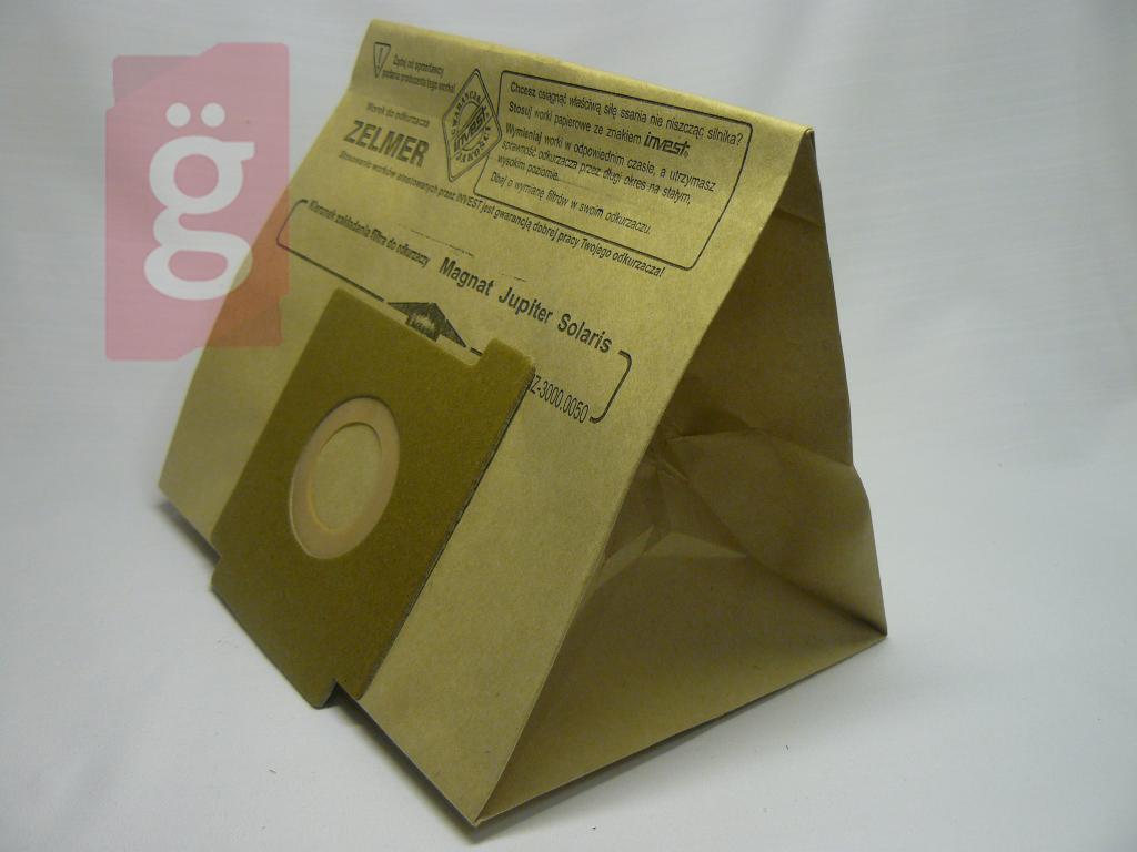 Kép a(z) IZ-3000.0055 Invest Zelmer Magnat papír porzsák (5db/csomag) nevű termékről