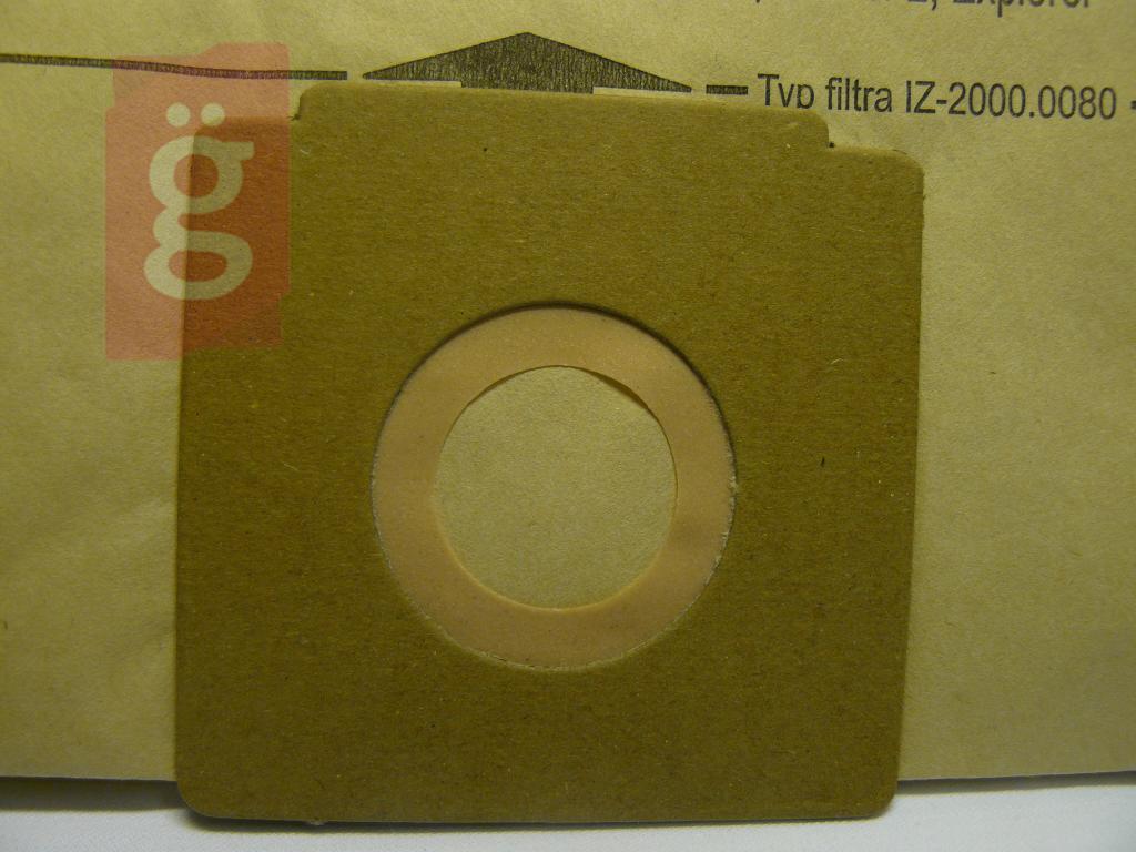 Kép a(z) IZ-400.0290 Invest papír porzsák (5db/csomag) nevű termékről