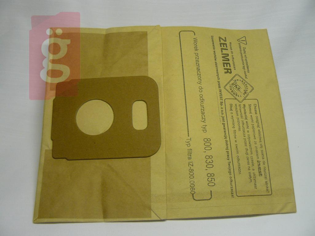 Kép a(z) IZ-800.0065 Invest papír porzsák (5db/csomag) nevű termékről
