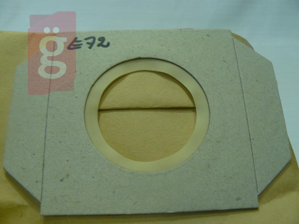 Kép a(z) IZ-E72 Invest Thomas takarítógép Vario Elektrik stb. papír porzsák (5db/csomag) nevű termékről