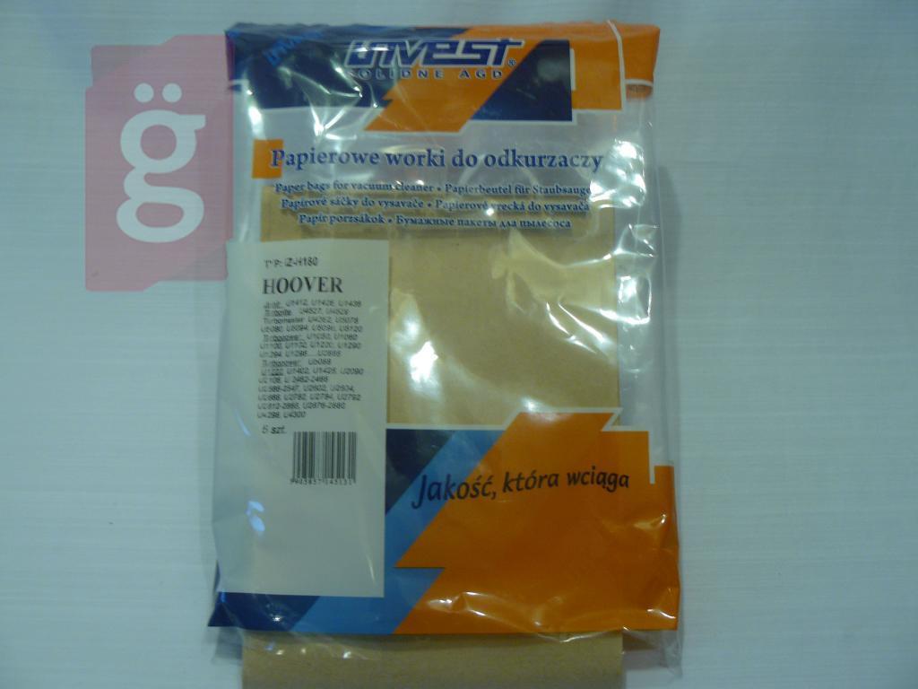 Kép a(z) IZ-H180 Invest papír porzsák (5db/csomag) nevű termékről