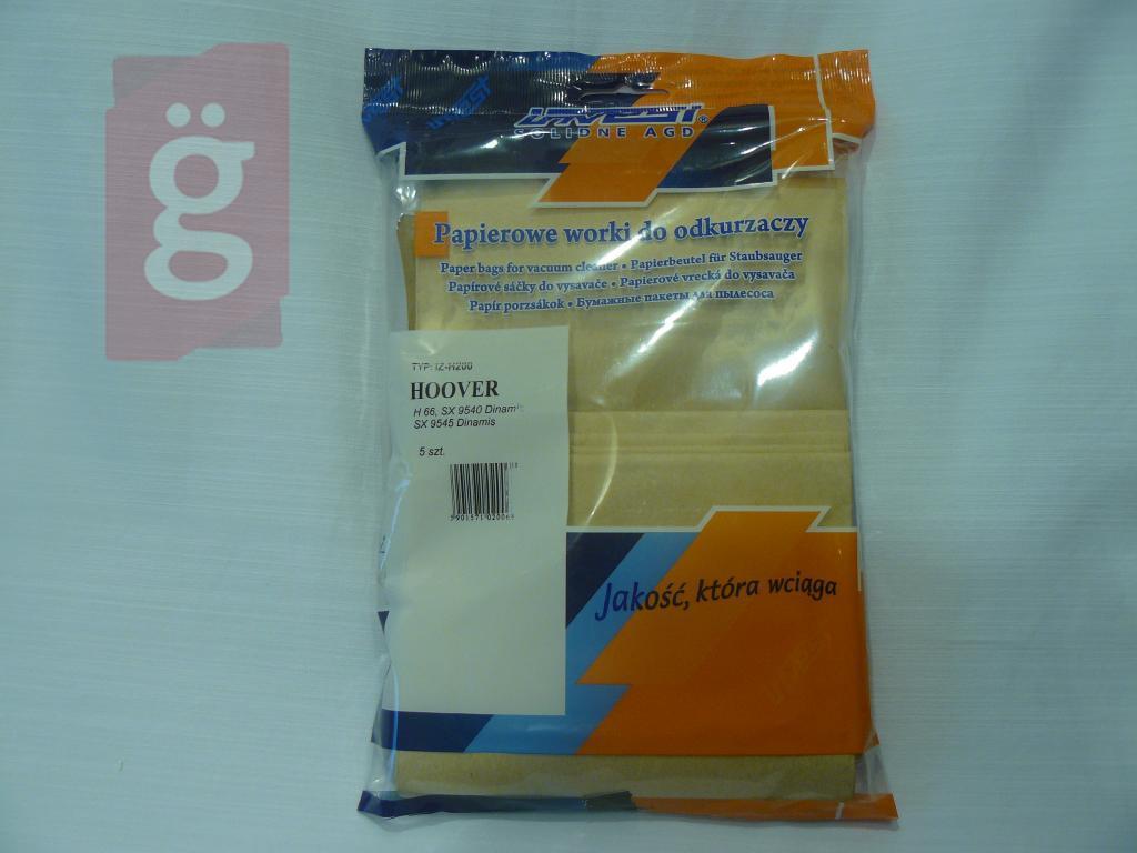 Kép a(z) IZ-H200 Invest papír porzsák (5db/csomag) nevű termékről