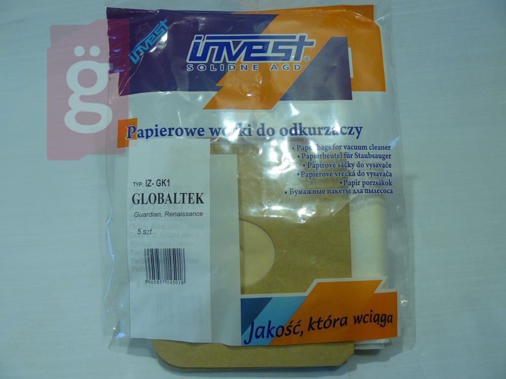 Kép a(z) IZ-GK1 Invest papír porzsák (5db/csomag) nevű termékről