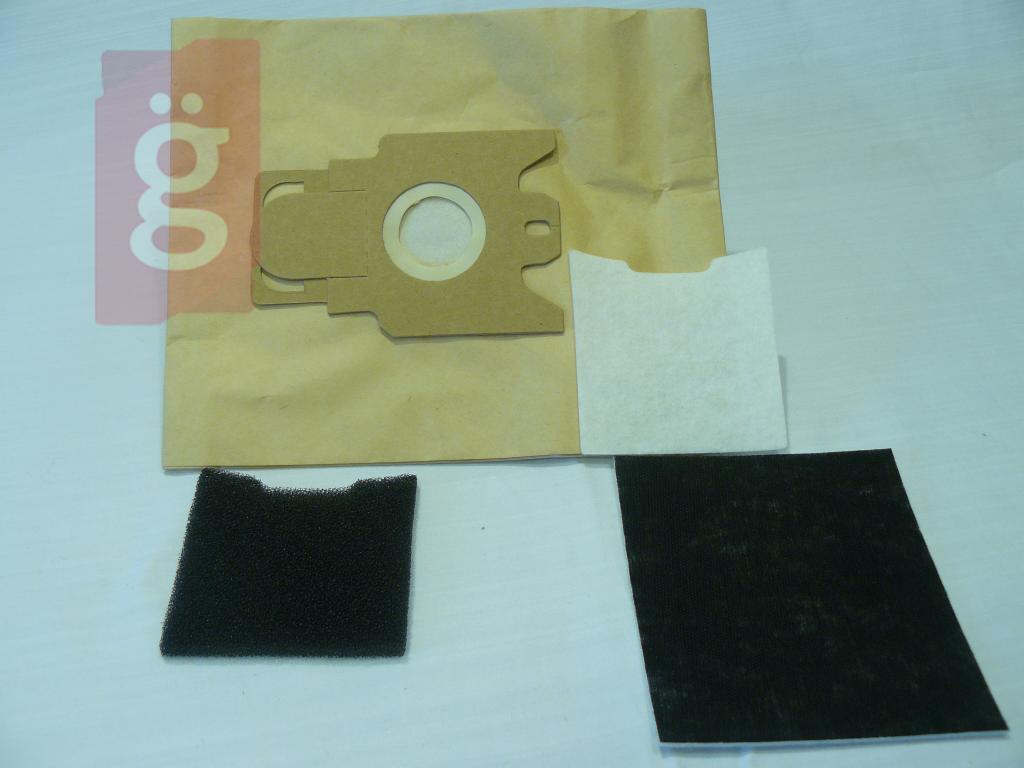 Kép a(z) IZ-H125.3FT Invest HOOVER Telios papír porzsák (5db+3filter/csomag) nevű termékről