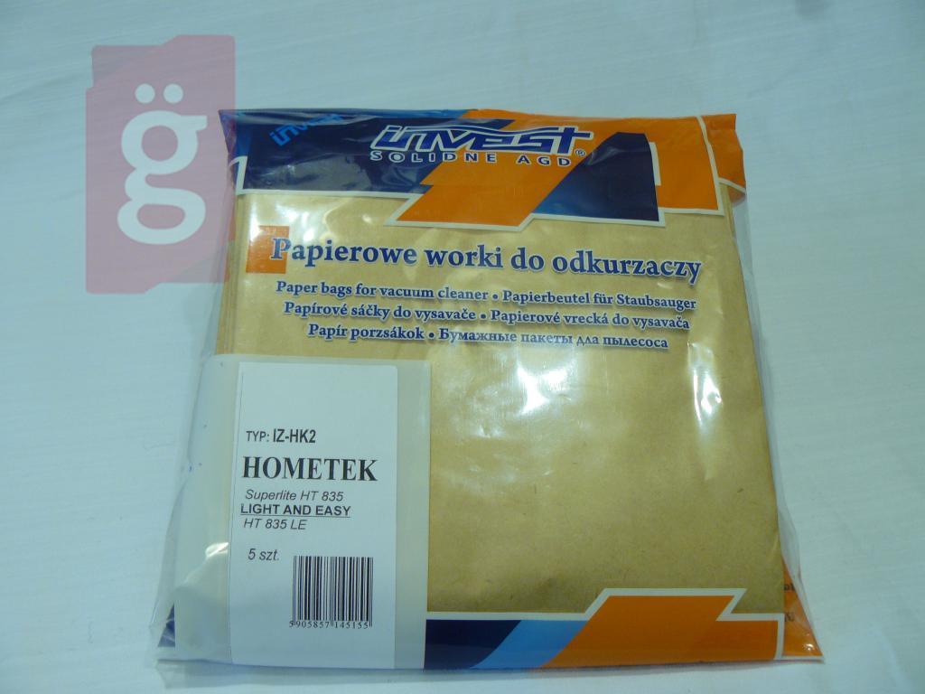 Kép a(z) IZ-HK2 Invest Kompatibilis papír porzsák (5db/csomag) nevű termékről