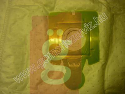 Kép a(z) Zelmer SAFbag  4 porzsák +1 szürő nevű termékről