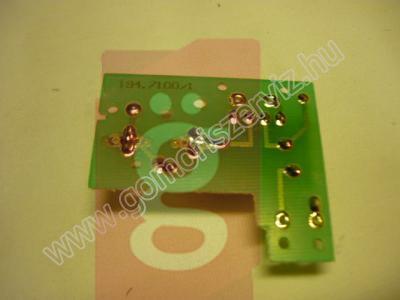 Kép a(z) Zelmer szeletelő  kapcsoló panel nevű termékről