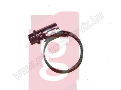 Kép a(z) 16-28 mm bilincs horganyzott nevű termékről