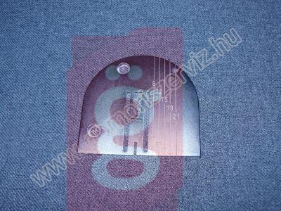 Kép a(z) Naumann tűlemez 11 óránál sűlyesztett furattal nevű termékről