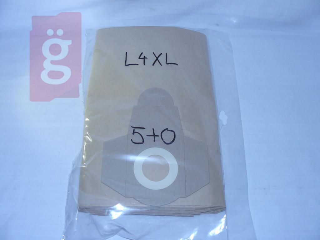 Kép a(z) IZ-L4XL Invest Jazz ipari magas Kompatibilis papír porzsák (5db/csomag) (32x46cm) nevű termékről