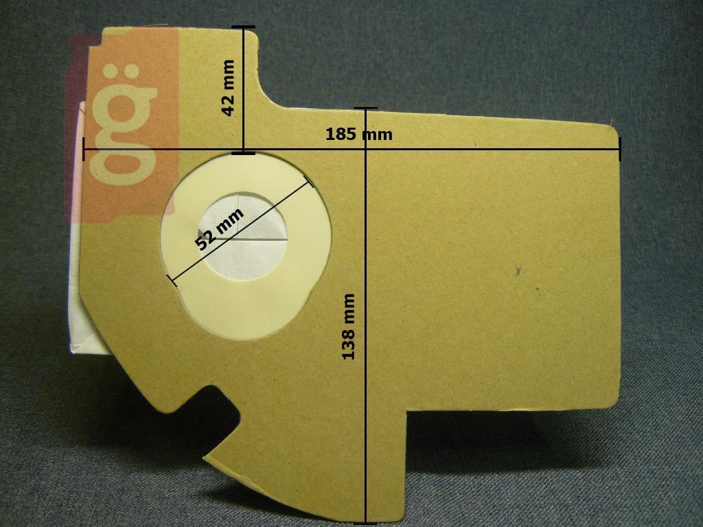 Kép a(z) IZ-E46 Invest Kompatibilis papír porzsák (5db/csomag) nevű termékről