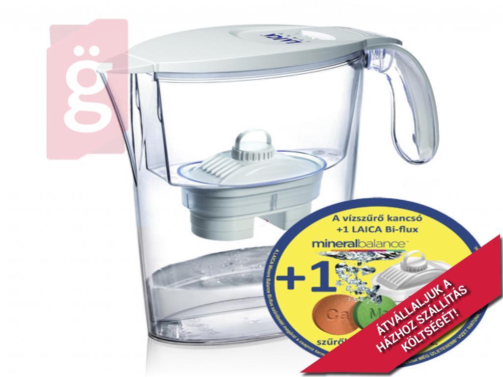 Kép a(z) Laica LJ706 vízszűrő kancsó fehér nevű termékről