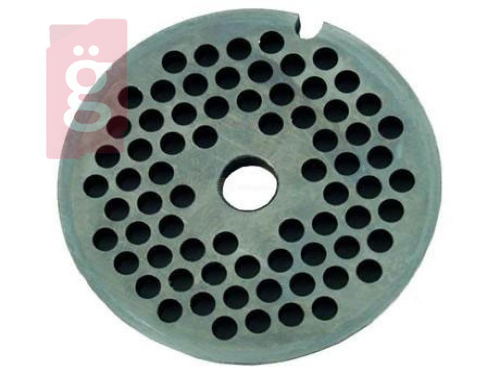 Kép a(z) Zelmer 86.1241Húsdaráló Perforált Vágótárcsa5  4 mm Ø50mm Csigához nevű termékről