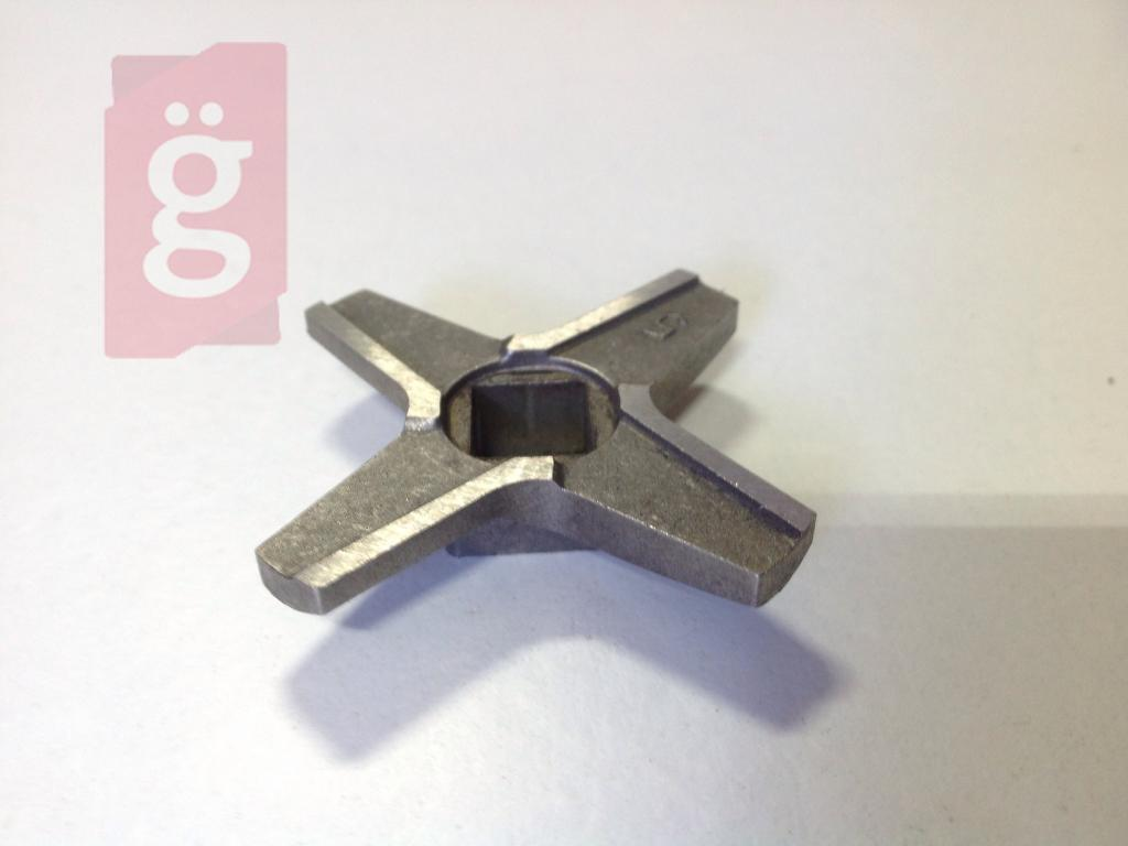 Kép a(z) Zelmer 86.1007 Húsdaráló Kés 86.1057 HELYETT! Ø50mm Csigához!! Predom 9mmx9mm nevű termékről