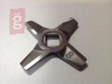 Kép a(z) Zelmer 86.3109 Húsdaráló kés 8  kétoldalas örlés 10mmx10mm nevű termékről