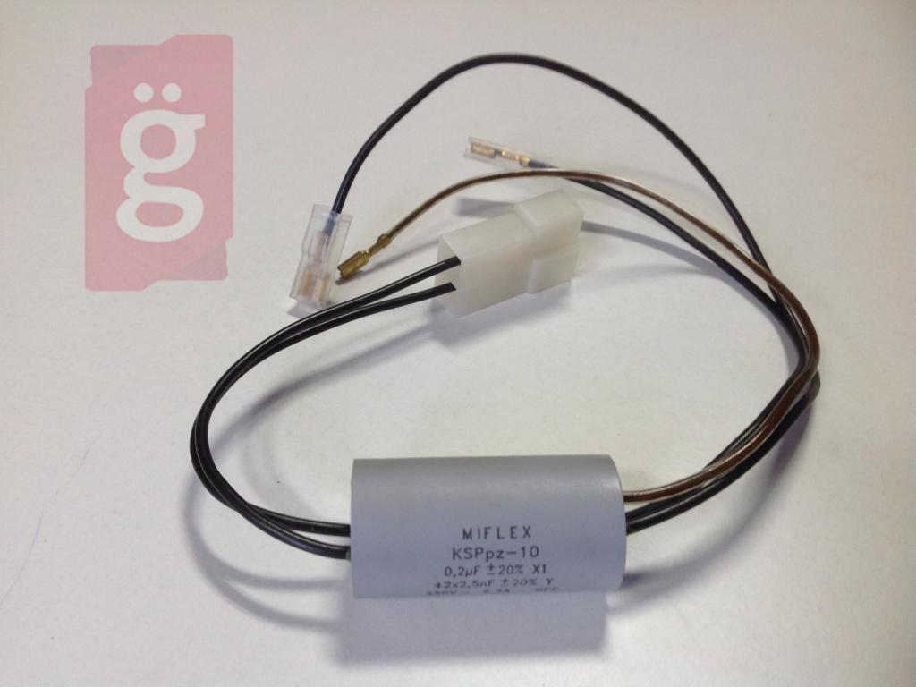 Kép a(z) Zelmer 519.0110 Porszívó Kondenzátor MIFLEX Wodnik 619 nevű termékről