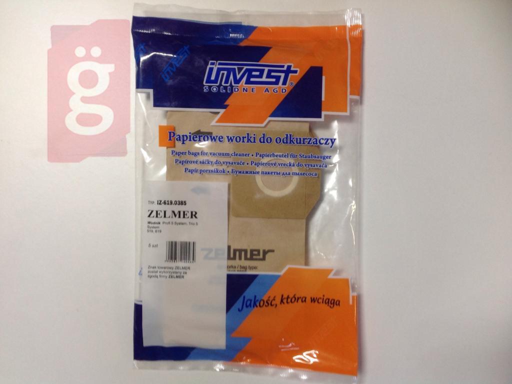 Kép a(z) IZ-619.0385 Invest Vizimanó Wodnik papír porzsák (5db/csomag) nevű termékről