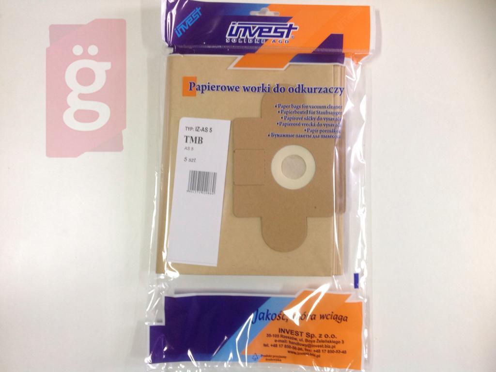 Kép a(z) IZ-AS5 Invest papír porzsák nevű termékről