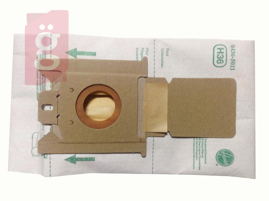 Kép a(z) IZ-H36 HOOVER Octopus Discovery Gyári papír porzsák (5db/csomag) IZ-H127-nek megfelelő nevű termékről