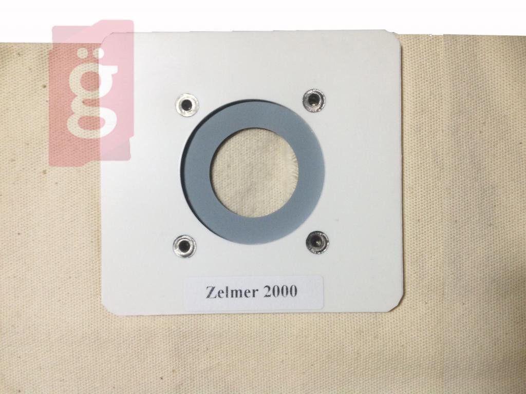 Kép a(z) Zelmer Cobra 2000 vászon (textil) porzsák (Helyette:Zelmer Flip vászon porzsák GA3531) nevű termékről