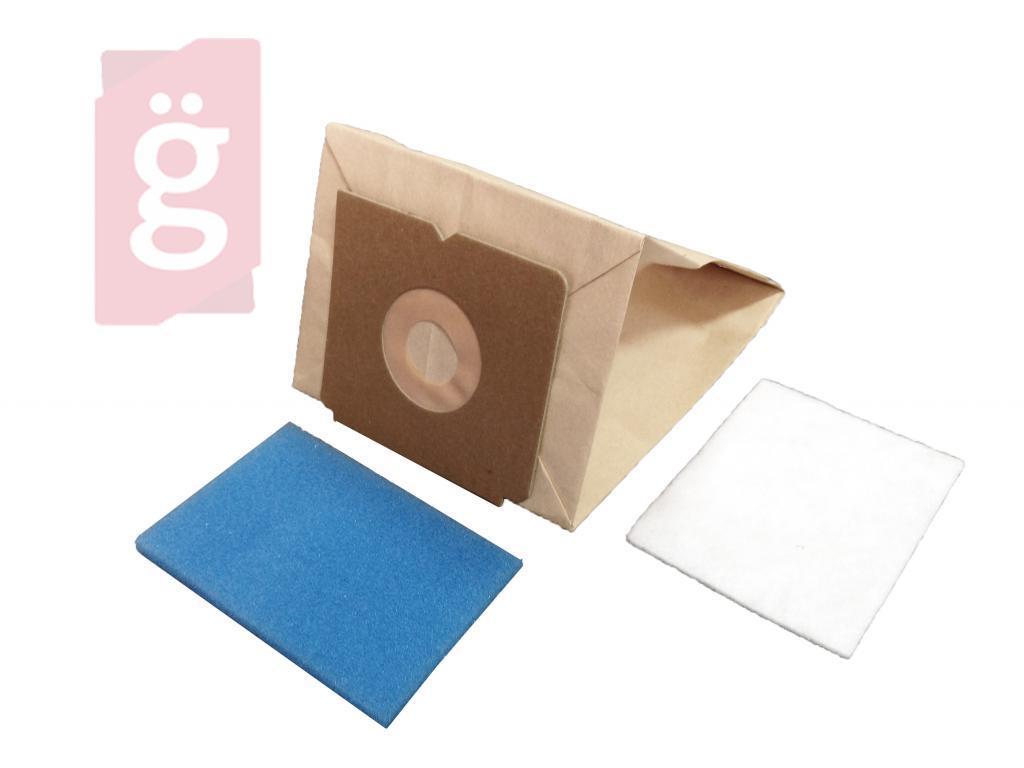 Kép a(z) IZ-E6.2F Invest Electrolux Xio papír porzsák (5db+2filter/csomag) nevű termékről