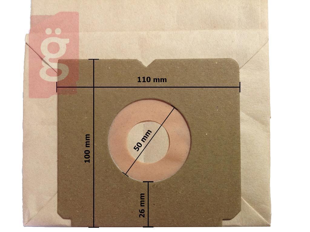 Kép a(z) IZ-E6 Invest Electrolux Xio stb. Kompatibilis papír porzsák (5db/csomag) nevű termékről