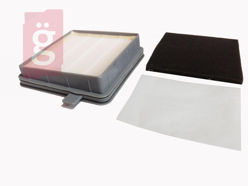 Kép a(z) Porszívó Hepa Filter/Szűrő készlet Sencor SVX012HF/ SVC 510GR/511TQ/512VT Allegro Porzsívóhoz (MOSHATÓ) nevű termékről