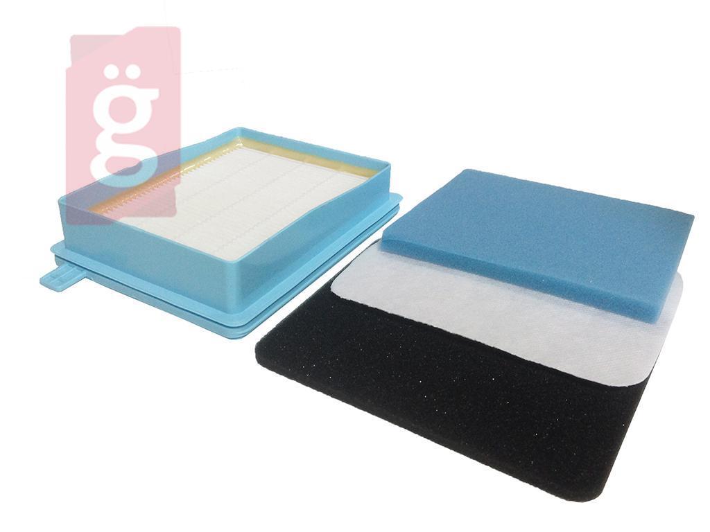 Kép a(z) Porszívó Hepa Filter  PHILIPS FC 8058/01 3db szűrővel nevű termékről