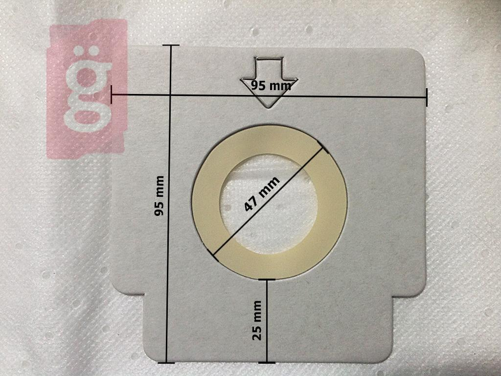 Kép a(z) IZ-SVC3001 Sencor Orca mikroszálas porzsák (5db/csomag) Gyári nevű termékről