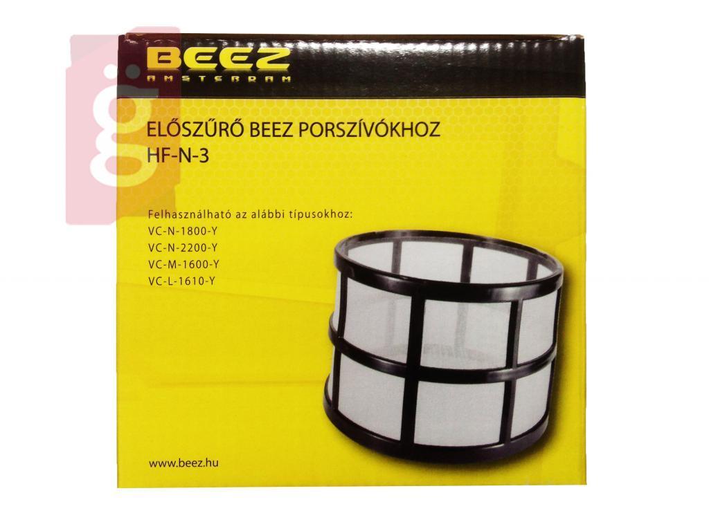 Kép a(z) Porszívó Szűrő védő BEEZ HF-N-3 VCL 1610Y/ VCN 1800Y/ VCM 1600Y nevű termékről