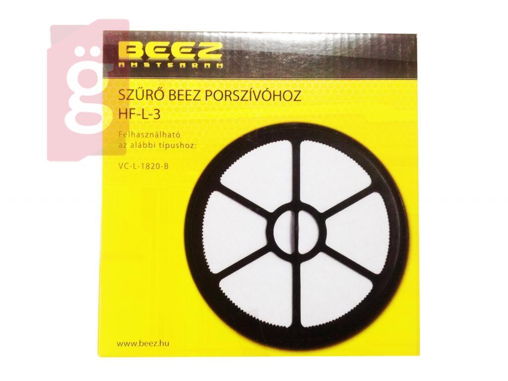 Kép a(z) Porszívó Mikroszűrő BEEZ HF-L-3 VCL 1820B Tartályba nevű termékről