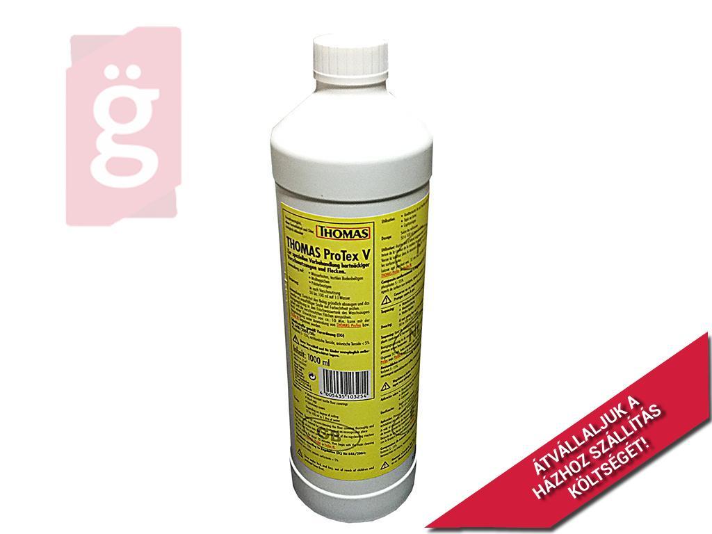 Kép a(z) Thomas ProTex V tisztítófolyadék koncentrátum Speciálisan Folttisztításhoz (Vízálló textil padlóburkolatok, Gyapjúszőnyegek, Bútorkárpitok tisztításához.) nevű termékről