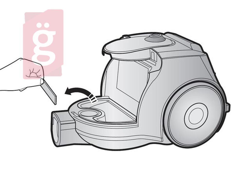 Kép a(z) Porszívó Motorvédő szűrő Samsung SC4370 DJ6300671A Gyári nevű termékről