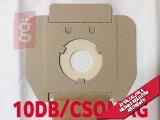 Kép a(z) IZ-CLS10S.10.4F IPARI Cleanfix S10 / Taski Vento 8 mikroszálas porzsák (10db+4filter/csomag) 5 rétegű nevű termékről