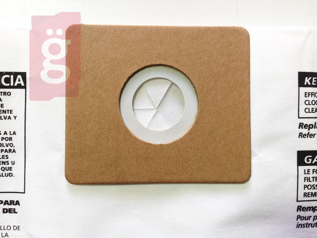 Kép a(z) IZ-PA10 ProfiAir PA 100 Gyári  papír porzsák (5db/csomag) nevű termékről