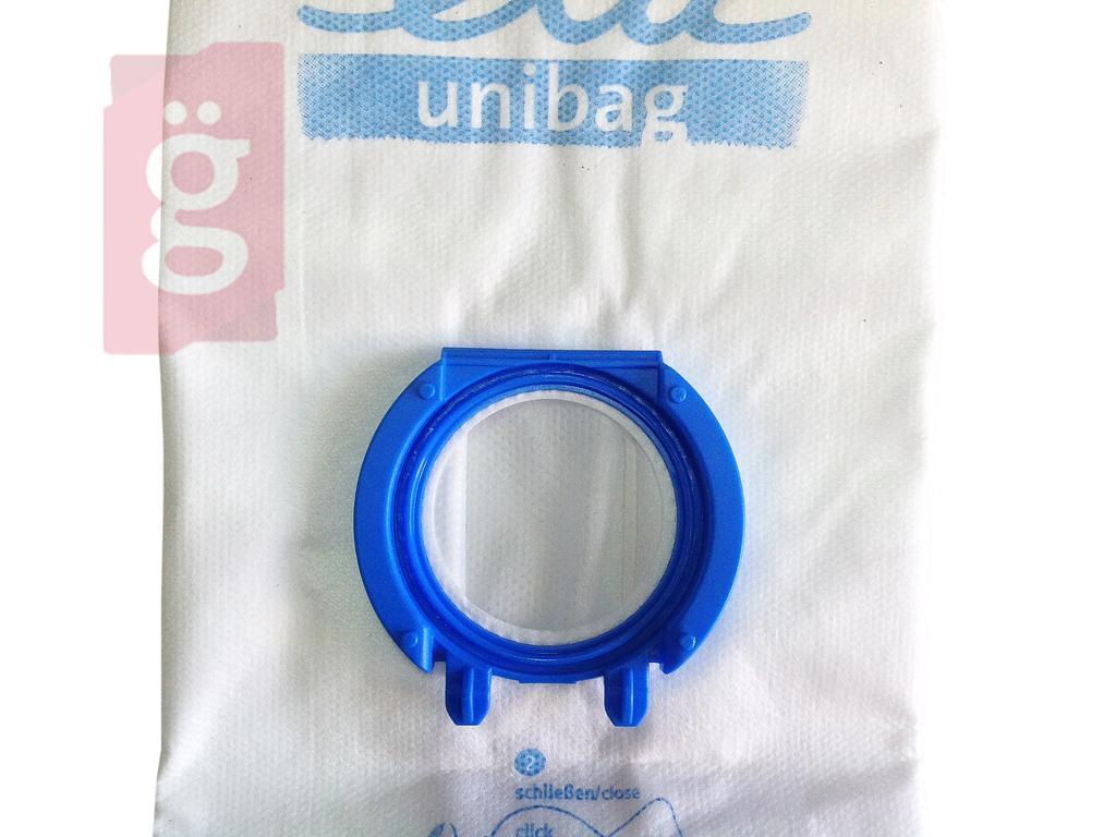 Kép a(z) IZ-UNIBAG4 ETA Univerzális Gyári mikroszálas porzsák (4db/csomag) 990068000  Adapter szükséges hozzá! nevű termékről