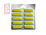 Kép a(z) Porszívó porzsák illatosító rúd Yellow Citrom illat (10db/csomag) nevű termékről