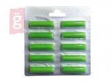 Kép a(z) Porszívó porzsák illatosító rúd Green Virág illat (10db/csomag) nevű termékről